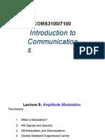 AM Modulation and Demodulation