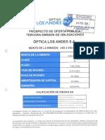 Optica Los Andes Obl 2015