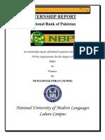Internship Report NBP[3]