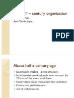 The 21st – century organization