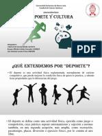 DEPORTE Y CULTURA (Educacion Fisica)
