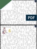 Fichas Para Trabajar Los Números Del 0 Al 9 Parte2