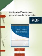 Diapositiva de Tecnicas de Entrevista Clinica.