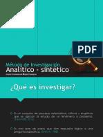Analítico-sintético (EXPOSICIÓN)