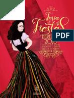 Libro y Programa de Feria y Fiestas de Herencia 2018
