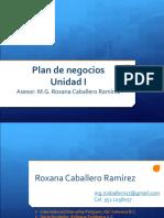 Plan de Negocios 1 Unidad
