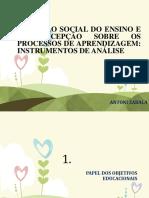 A FUNÇÃO SOCIAL DO ENSINO E A CONCEPÇÃO  Antoni Zabala.pptx