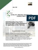 Debottlenecking Claus Sulfur_Recovery Units Zinc Titanate V2