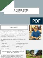 WHO'S WHO? PAUL FELIX