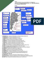 Distribuición de Electricidad en Argentina