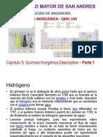 Cap 5 Inorganica Descriptiva - Parte 1