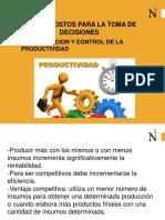 CLASE 10 Medición y Control de La Productividad