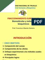 1 CLASE Fraccionamiento Subcelular