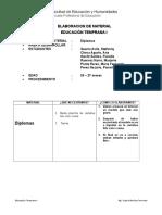 Ficha de Material Diplomas