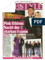 Vienna Pink Ribbon - Osterreich Newspaper