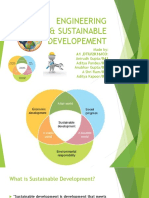 Engineering Sustainable Development