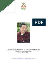 - Bouddhisme Et Quotidien.pdf