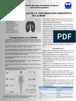Cartel Contaminación ZMVM CyS Equipo 7