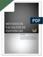 76952795 MEtodos de Valuacion NIC 2 Existencias
