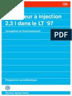 SSP 189 Le Moteur à Injection 2,3 l Dans Le LT '97