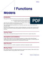 Sum of Functions Models