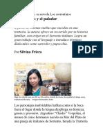 Virginia Higa y Su Novela Los Sorrentinos_Silvina Friera