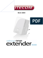 Manual Wifi Extender WLX-2003 [English]