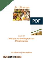 Micro_Sesión 04 - Ventajas y Desventajas de Las Microfinazas
