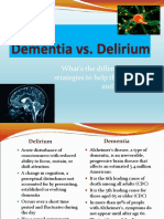 Dementia and Delirium