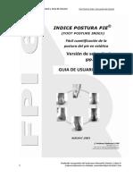 Indice Postural Del Pie Roberto