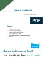 02 Excel 2013 - Uso de Fórmulas y Referencias de Celdas