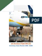 jet airways flight 9w 231 flight review