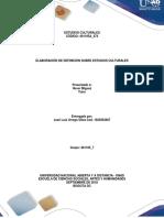 Unidad 1 - Paso 1 - Elaborar Una Definición Sobre Estudios Culturales Acorde Con Las Disciplinas de Los Estudiantes