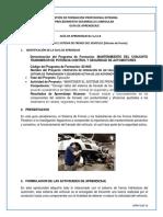Guia de Aprendizaje 3,2 -A-B Mantener El Sistema de Frenos Del Vehiculo (Frenos)