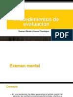Examen e Informe