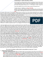 Concept and epidemiology of   sudden  death  ( SD ) in athletes