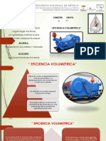 EFICIENCIA VOLUMETRICA