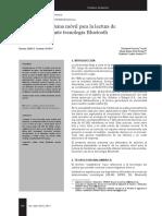 Lectura de Medidores Mediante Bluetooth