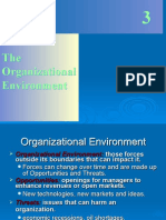 Chapter - 3 the Organizational Enviroment