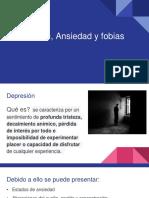 Depresión,Ansiedad, Agorafobia- Qué es y cómo prevenir