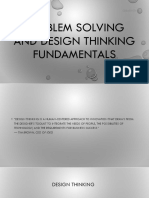 Creativity and Innovation - 3 Design Thinking
