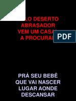 PELO DESERTO ABRASADOR.ppt