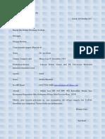 Surat Lamaran Kerja Dan CV