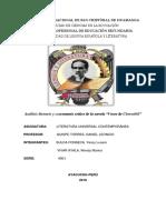 Analisis y Comentario de La Novela las voces de chérnovil