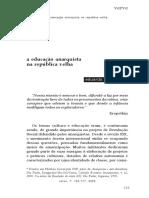 VALLADARES, Eduardo - A Educação Anarquista Na República Velha.pdf