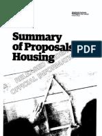 Housing OIA