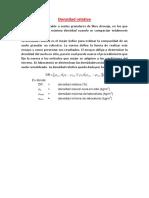 Densidad Relativa y Penetracion de Energia de Compactacion