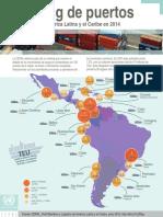 Ranking de Puertos 2015 - CEPAL