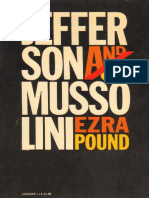 Pound, Ezra - Jefferson And_or Mussolini (Liveright, 1970)