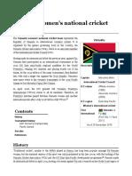 Vanuatu Women's National Cricket Team